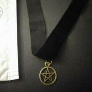 Jewelry - Brand New Handmade Pentagram Choker.